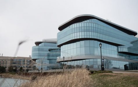 The Kellogg School of Management Global Hub, 2211 Campus Drive.