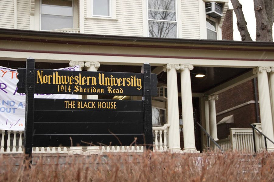 The Black House, located at 1914 Sheridan Rd., is currently under renovation.