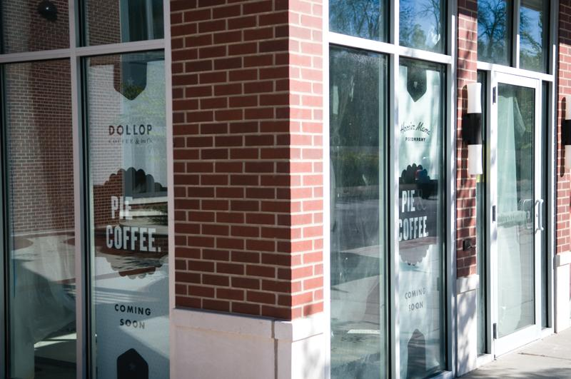Dollop Coffee Co. and Hoosier Mama Pie Company, 749 Chicago Ave. Stop in for a slice of pie or an iced latte.