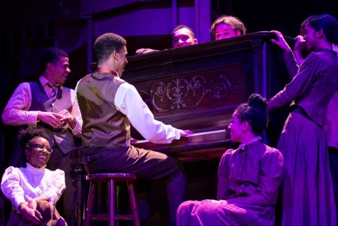 """Students perform in the 76th Annual Dolphin Show, """"Ragtime."""" The Dolphin Show and other theatre groups are still planning shows for the 2020-21 academic year, even if they're forced to perform remotely."""