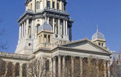 The capitol building in Springfield. House Bill 4954 passed before the Illinois House Committee in March with 14 in favor and 7 opposed.