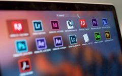 A laptop with some Adobe Creative Cloud apps. During Spring Quarter, all NU undergraduates had free access to Adobe Creative Cloud apps.