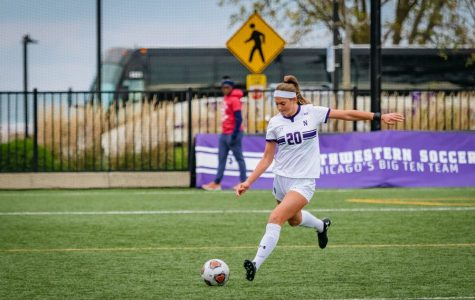 Defender Reilly Riggs. The sophomore led Northwestern in goals last season, though she scored just twice.
