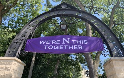 The Weber Arch. Northwestern announced academic calendar updates and planning for the winter in a Friday email.