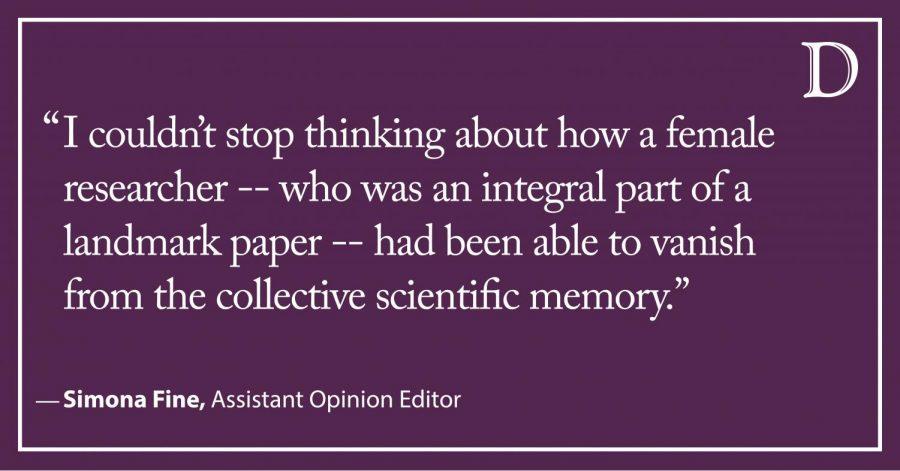 Fine: Rhetoric and the inclusion of women in STEM