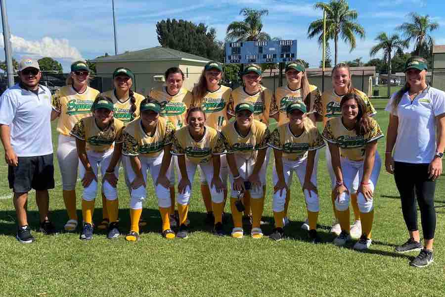 Northwestern's Nikki Cuchran and Kenna Wilkey starred this summer for the Manatee Squeeze in the inaugural season of Florida Gulf Coast League play.