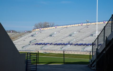 Ryan Field. Many NU students are wary about football's return.
