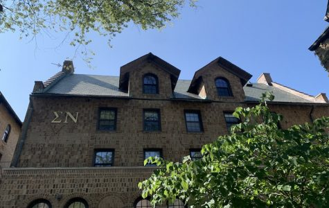 Sigma Nu house, 2335 Sheridan Rd. 75 percent of the chapter's members have disaffiliated following calls on Northwestern's campus to abolish Greek life.