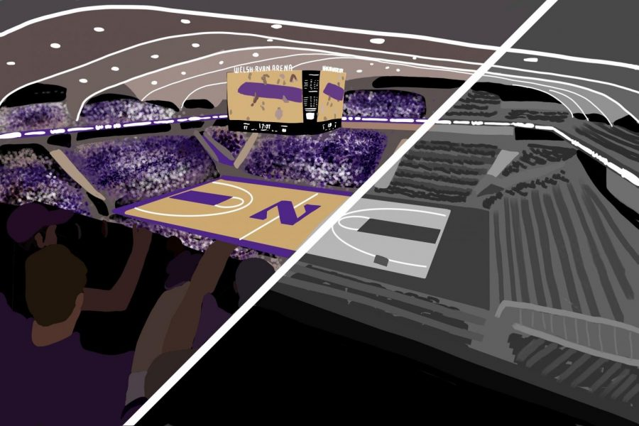 Welsh-Ryan Arena. Until 2021 the University can host for-profit concerts and professional sport events at the arena, but all events have been put on hold because of COVID-19.
