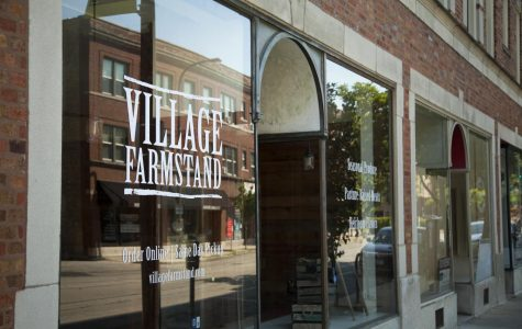 Matt Wechsler founded Village Farmstand. The storefront opened its doors on Dempster Street in August.