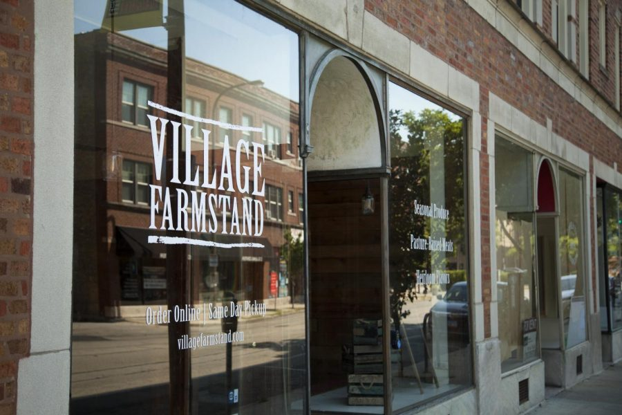 Matt+Wechsler+founded+Village+Farmstand.+The+storefront+opened+its+doors+on+Dempster+Street+in+August.