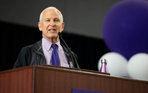 University President Morton Schapiro, one of the many administrators who attended Tuesday's webinar to discuss recent changes to Northwestern's Fall Quarter.