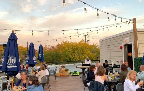 Comida Cantina serves customers outdoors on its rooftop deck. It has live music and occasional yoga classes on the deck, too.
