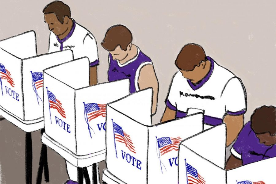 Wildcats promote civic engagement and voting ahead of election