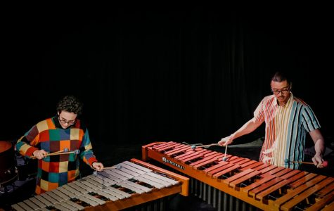 Jaime Esposito (left) and Stephen Hall (right) founded Spectrum Ensemble together.