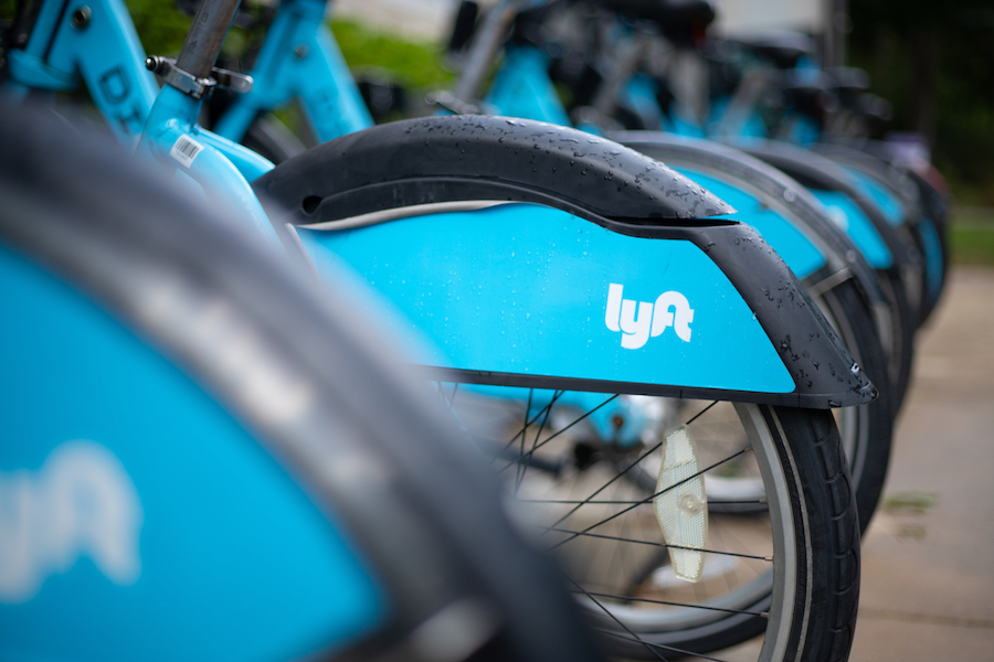Lyft added 90 new dockless electronic Divvy bikes for residents.
