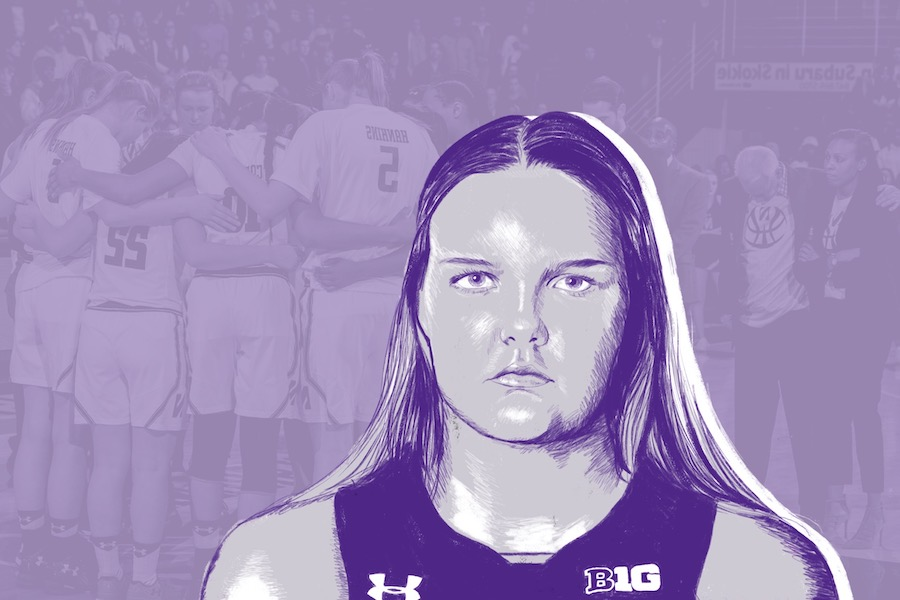 Former Wildcat Abbie Wolf. The Connecticut native opens up about her mental health struggles over her four years as a student-athlete.