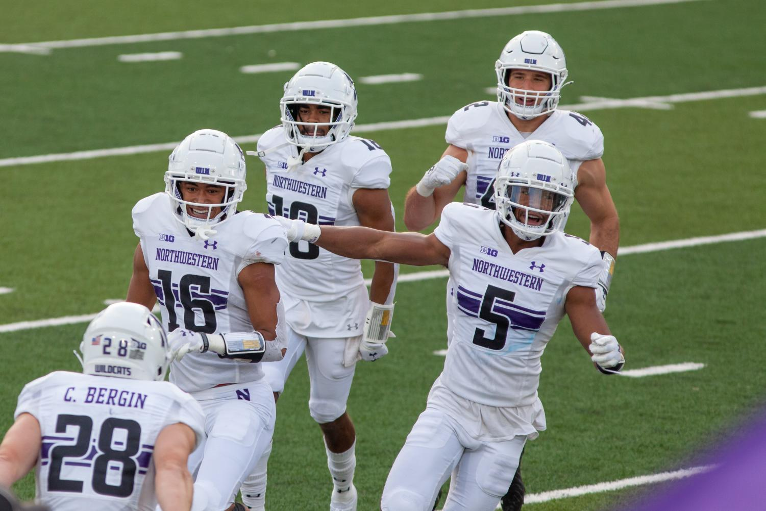 Northwestern Football Upsets Iowa After Falling Behind By Points