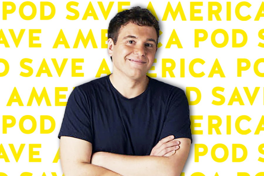 Obama+speechwriter+and+Pod+Save+America+host+Jon+Lovett.+His+talk+was+followed+by+a+phone-banking+event+co-hosted+by+Northwestern+College+Democrats+and+NU4Biden.+