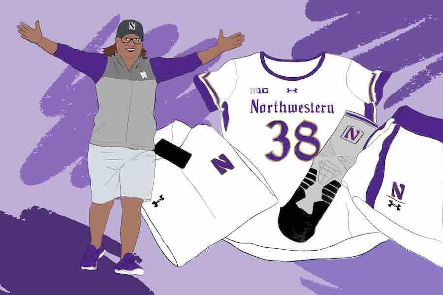 Longtime equipment manager Meli Resendiz celebrates 30 years at Northwestern