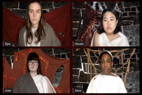 """The Trojan Women"" features virtual set where actors perform from their individual residences"