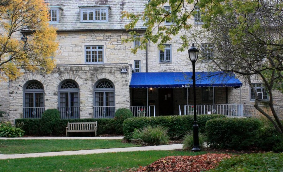 The Delta Delta Delta house, 625 University Pl. The chapter petitioned its Executive Board to withdraw its charter last week.