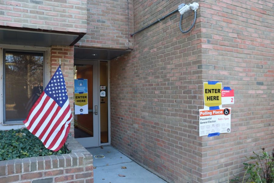 Jane R. Perelman apartments. The facility served as a polling place on Tuesday.