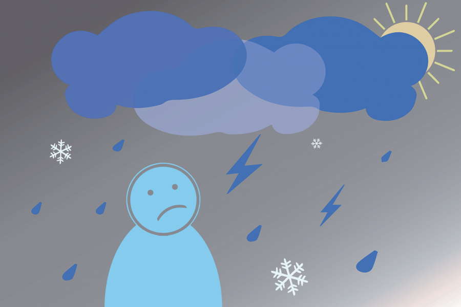 Most students, whether they're living in Evanston or not, will face darker and colder days over the next few months. This winter will be particularly difficult, as seasonal affective disorder compounds the stress of online learning and the pandemic.
