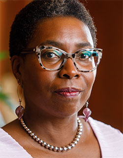 Robin Means Coleman, Northwestern's new chief diversity officer. In Wednesday's Faculty Senate Meeting, Coleman presented her vision for the role which she assumed last week.