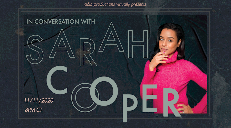 Sarah Cooper spoke over Zoom in an event presented by A&O Productions Wednesday night. She discussed her famous TikToks, almost quitting comedy and feeling imposter syndrome.
