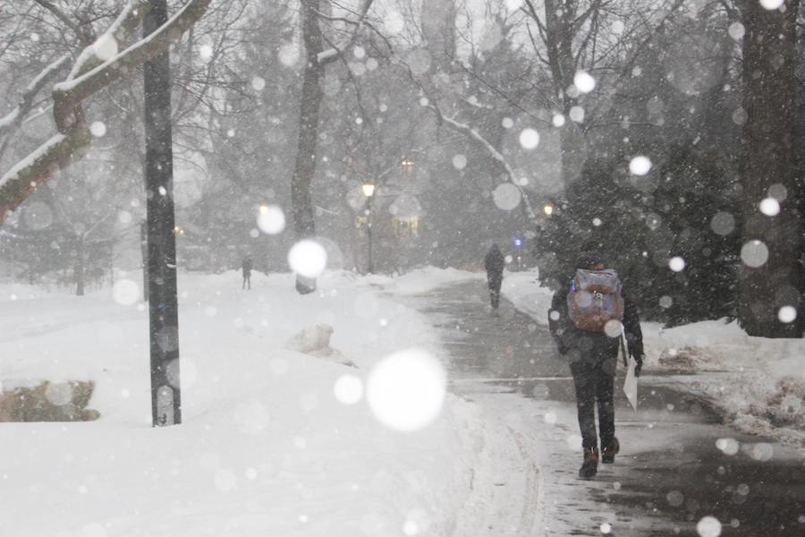 With spiking COVID-19 cases in Evanston and the rest of the state, Northwestern students have a difficult winter ahead of them.
