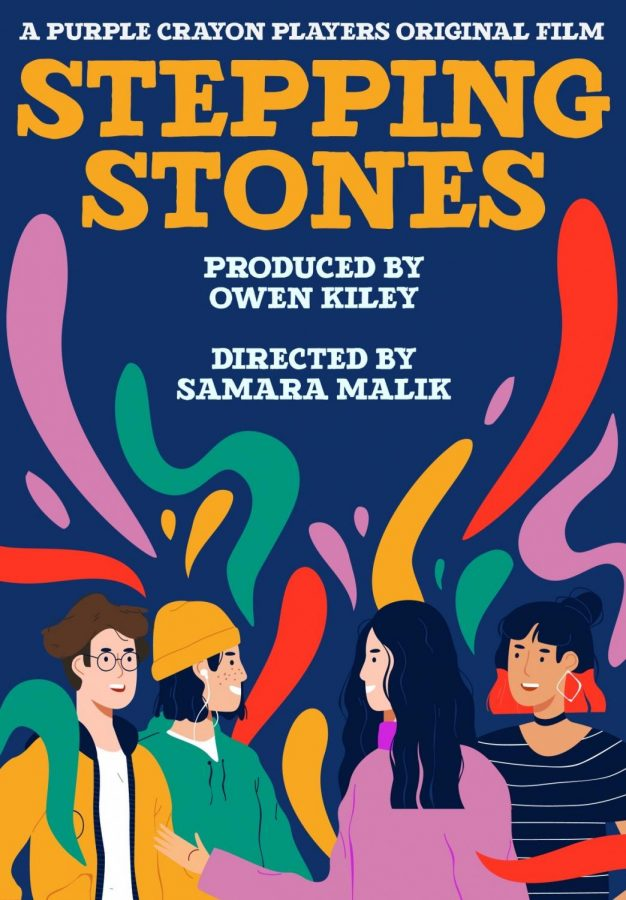 "Purple Crayon Players is preparing to premiere their film ""Stepping Stones"" this Friday."