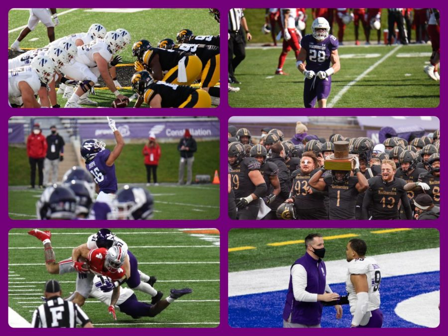Here are a few photos from an eventful 2020 football season for the Wildcats.