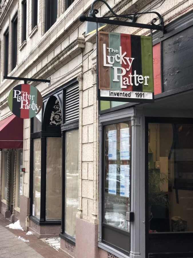 The Platter Pantry, which is directly connected to The Lucky Platter dining room is expected to open to the public in mid to late February.