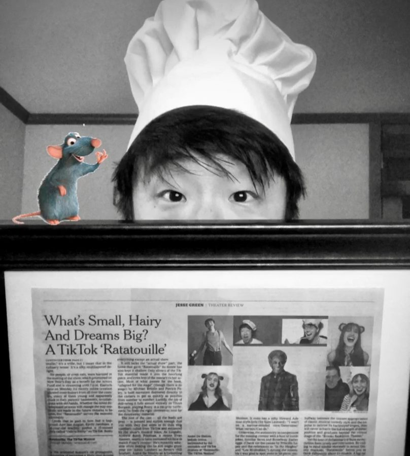NU alum Raymond J. Lee recently lent his voice to the ensemble cast of Ratatouille: The TikTok Musical.