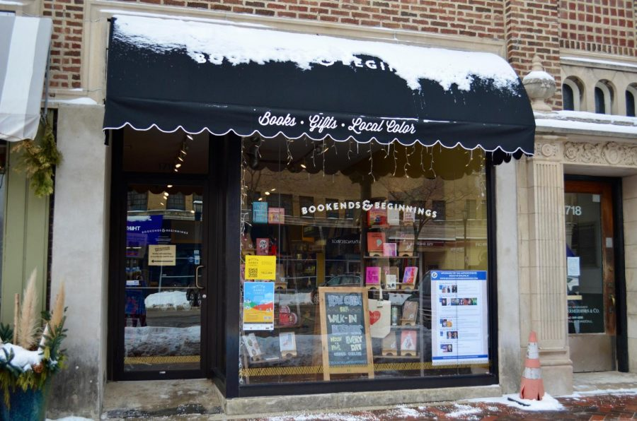 Bookends & Beginnings' new storefront at 1716 Sherman Ave. This new addition to the beloved Evanston store recently opened to the public.