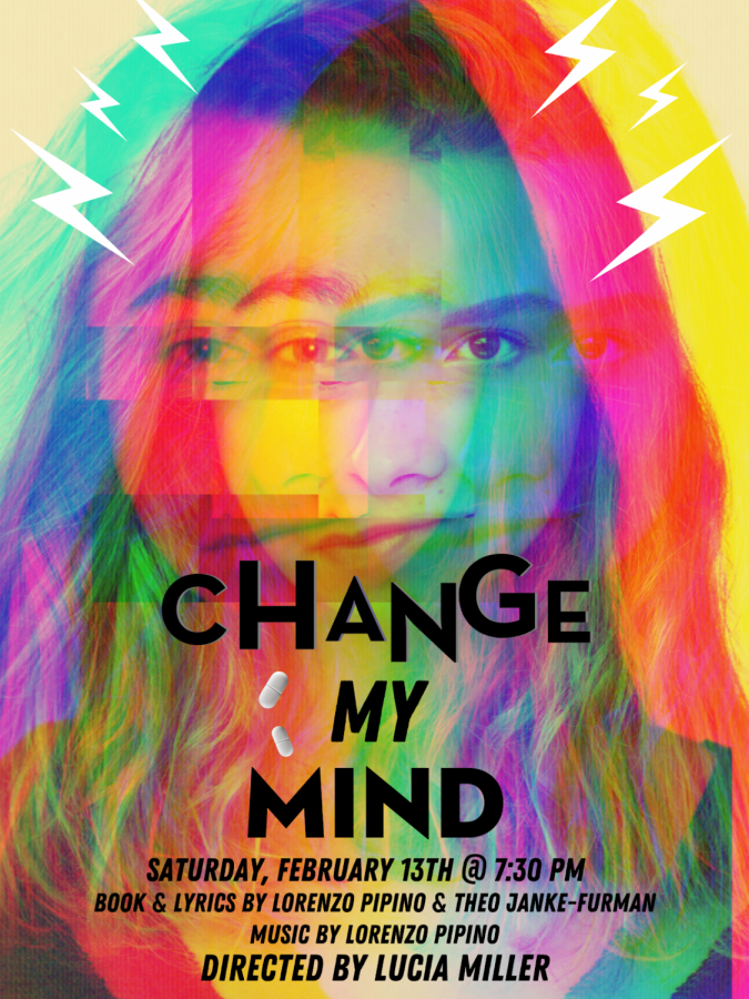 """Change My Mind"" announcement. The musical will premiere Saturday evening at 7:30 p.m."
