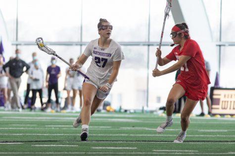 Lacrosse: Scane ties record, No. 5 Northwestern rolls Ohio State