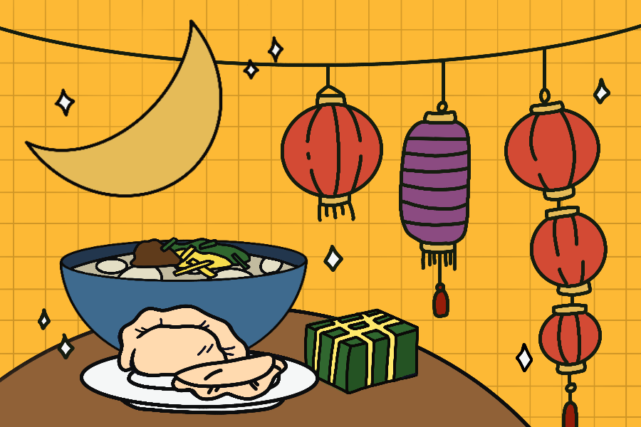 Lunar New Year is traditionally celebrated with a large family gathering and dinner. This year, East Asian groups at Northwestern are celebrating by sharing food and hosting Zoom events.
