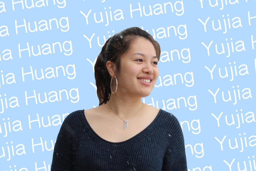 Weinberg junior Yujia Huang. In addition to making a video with 11 other Chinese international students about the stories behind their names, Huang recently successfully advocated for students to have the option to write their names with their family name first on their school documents and Wildcards.