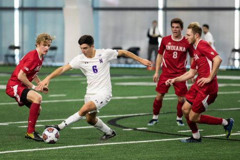 Men's Soccer: Despite early lead, Northwestern falls 4-2 to Ohio State