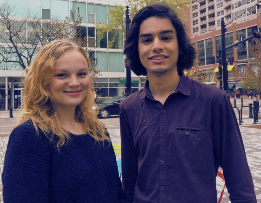 Sahibzada Mayed and McKenna Troy's platform includes police abolition, increasing gender resources and addressing sexual assault and mental health.