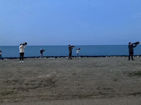 Bienen hosts first in-person, walk-through performance on the Lakefill in over a year