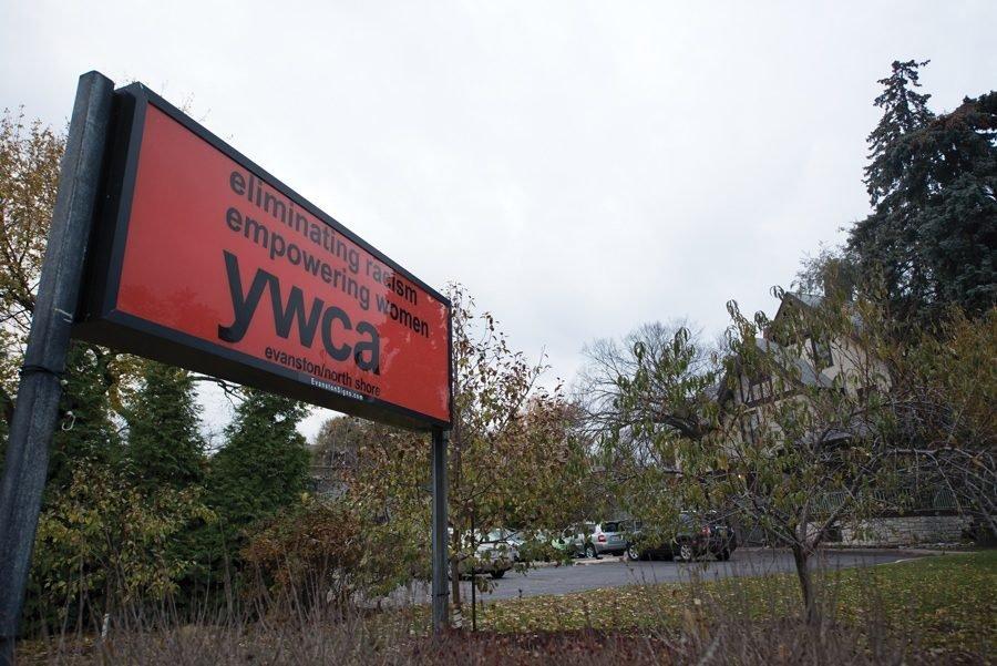 A sign of YWCA Evanston/North Shore