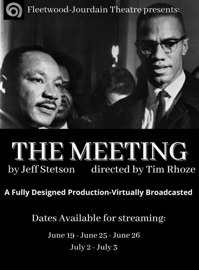 """Fleetwood-Jourdain Theatre presents first in-person show of the year: """"The Meeting"""""""