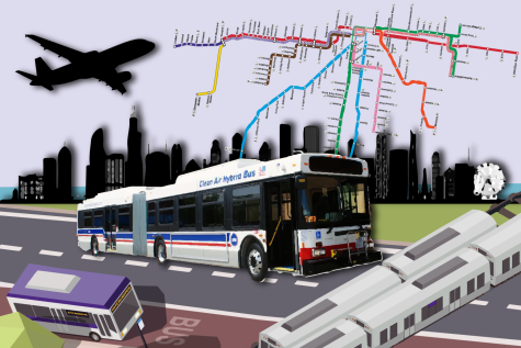 Navigating public transit on campus, in Evanston and around the windy city