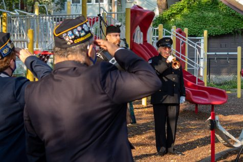 Twenty years later, Evanston residents, officials gather to remember 9/11 attacks