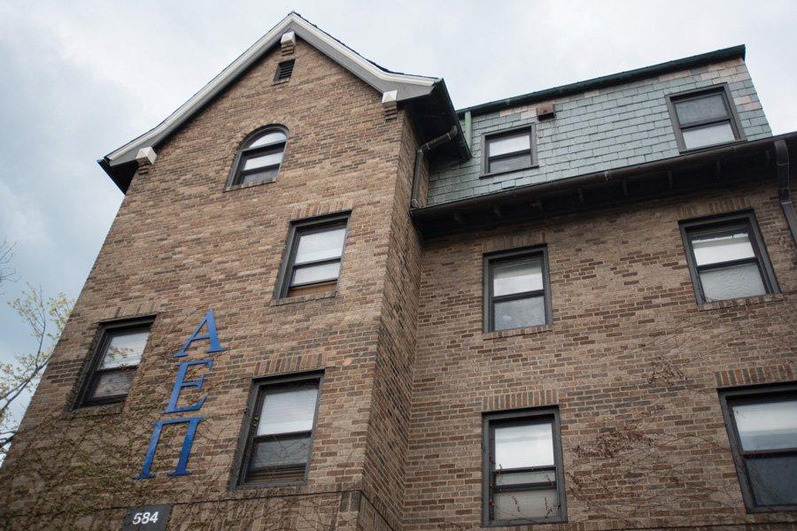 The+Alpha+Epsilon+Pi+fraternity+house+on+Northwestern%E2%80%99s+campus.+