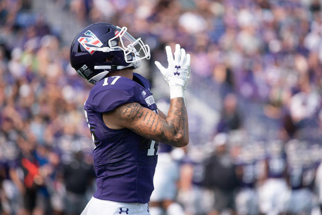Football: How Northwestern wide receivers are preparing amid uncertainty at quarterback