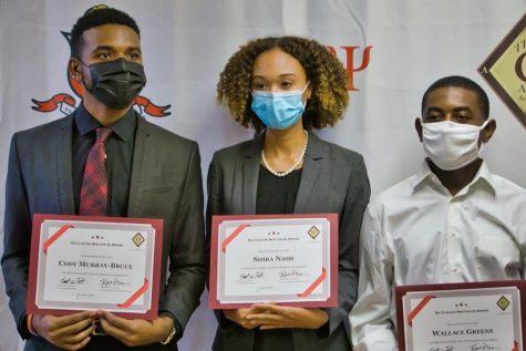 Kappa Alpha Psi presents first inaugural Dr. Clinton Bristow Jr. Awards to Black students